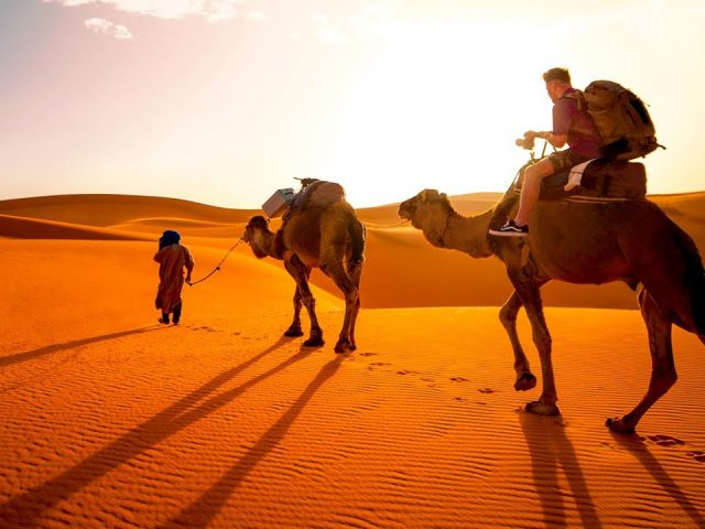 TO THE SAHARA DESERT