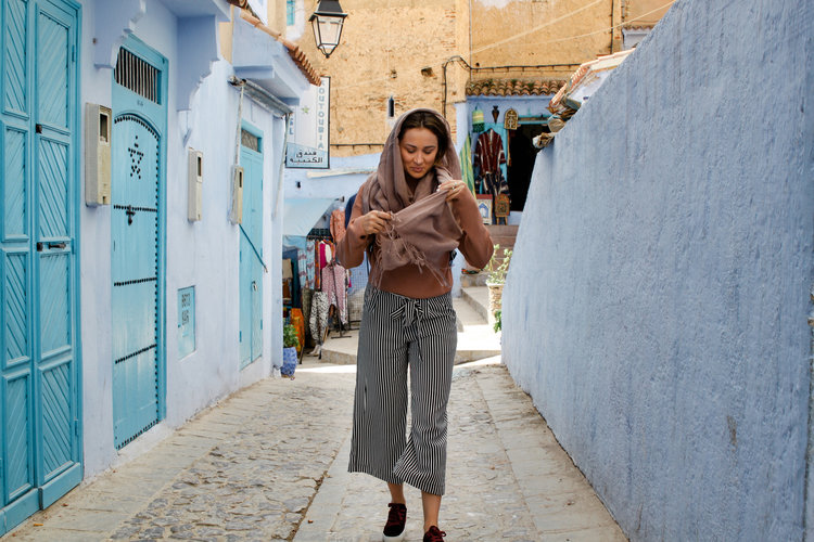 women tourist morocco