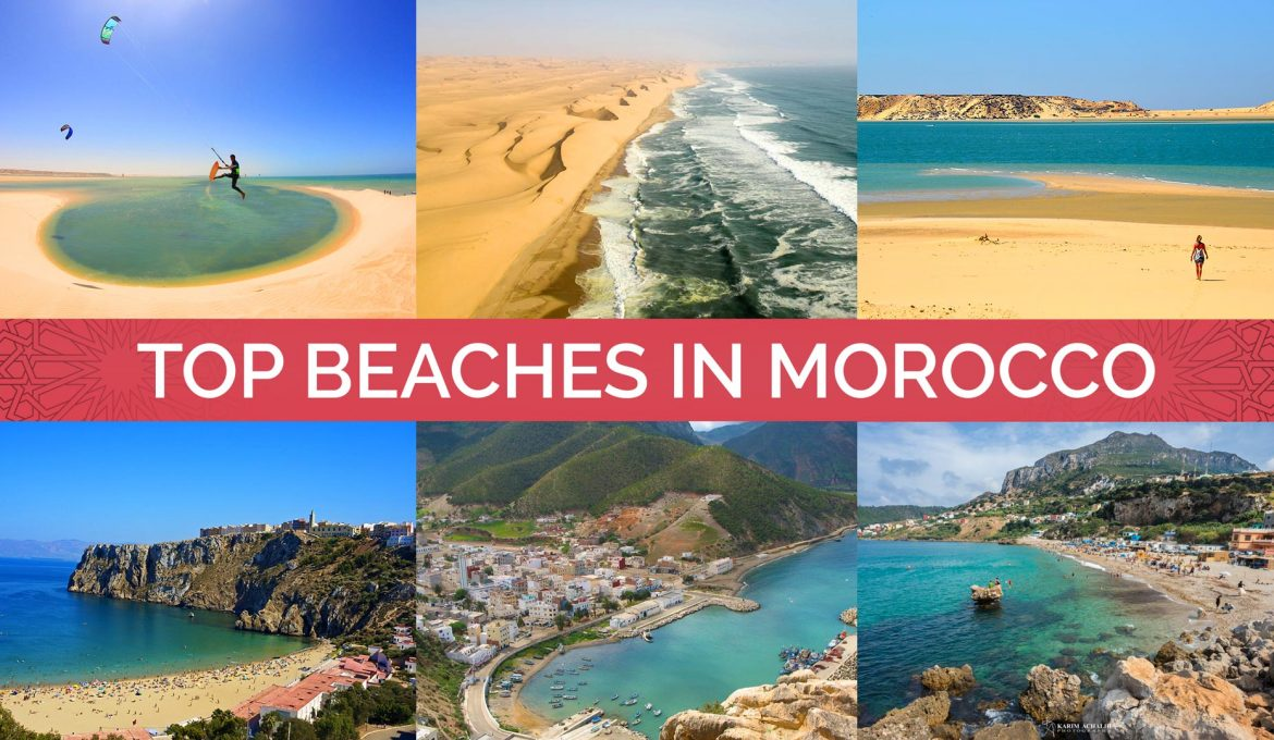 Top Most Beautiful Beaches in Morocco (Photos + Map)