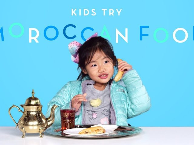 Kids Try Moroccan Food