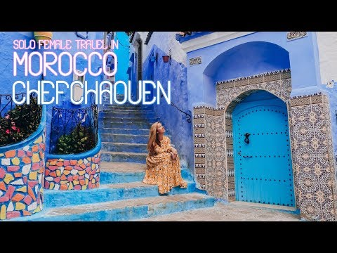 Solo Female Travel in Morocco – Chefchaouen