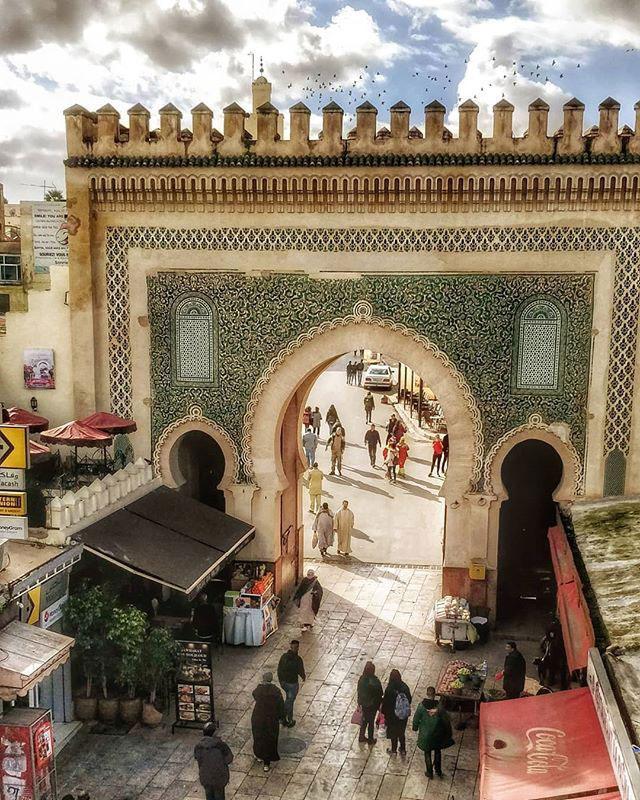 visit-fes-Bab-Bou-Jeloud