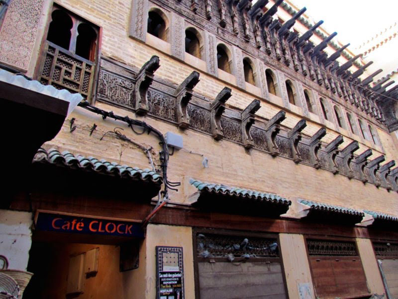 visit-fes-Cafe-Clock
