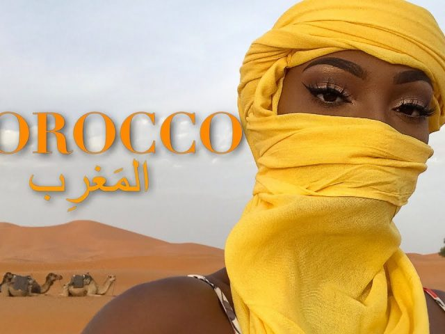 Vlog | 5 days in Morocco • Hanging off the Atlas Mountains & a night in the Sahara Desert!