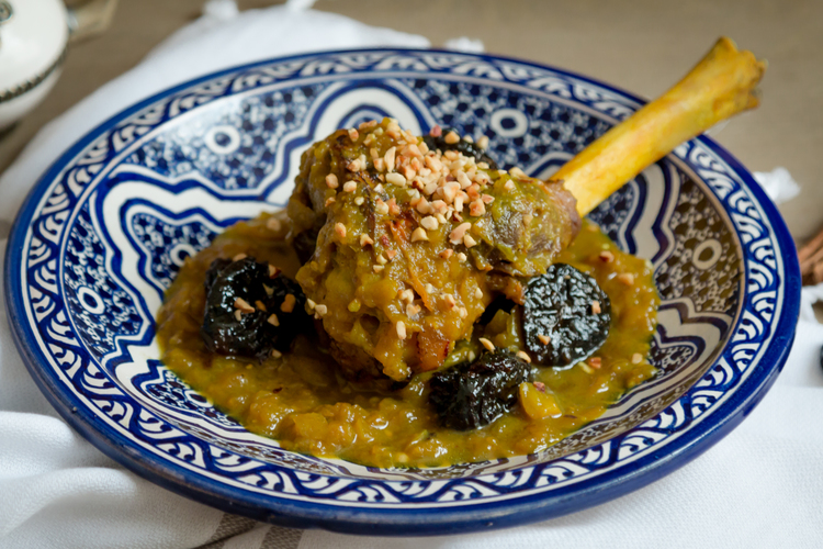 Lamb or Beef with Prunes