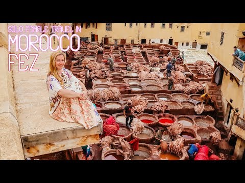 Solo Female Travel in Morocco – Fes