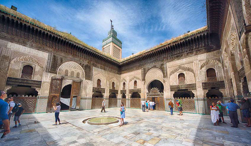 visit-fes-Bou-Inania-Madrasa