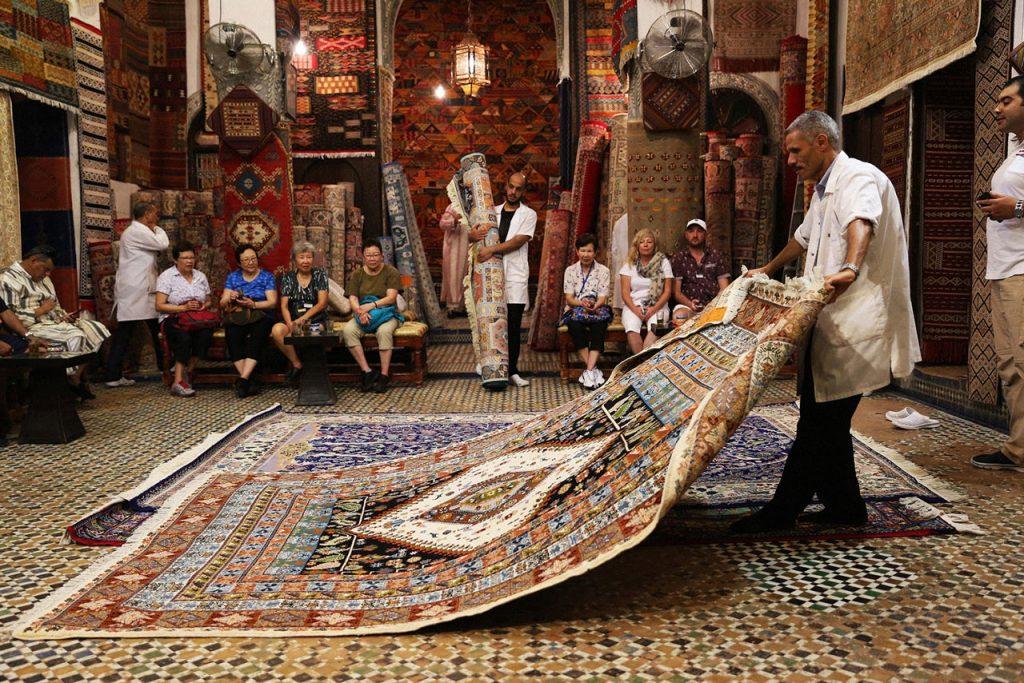 visit-fes-Carpet-Shop
