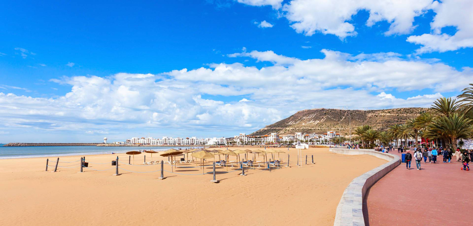 travel-to-agadir-Seafront-Promenade