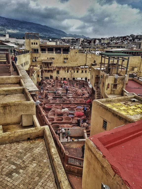travel-to-morocco-alone-fes-tannery