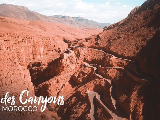 Dades Canyons (Gorges), Morocco